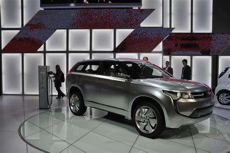 2011 Mitsubishi Px-miev Ii Plug-in Hybrid Concept