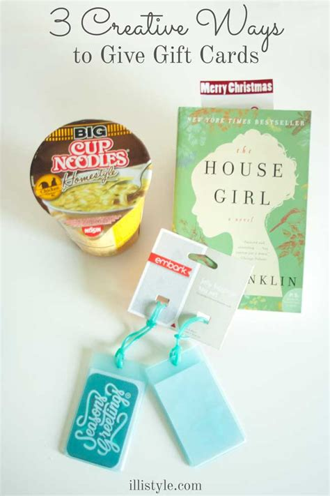 3 Creative Ways To Give A Gift Card Illistyle