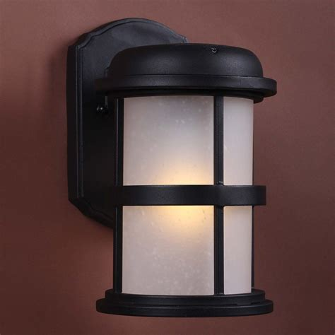 solar hybrid led outdoor sconce black outdoor sconces