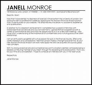 sample cover letter for a finance job job cover letters With sample cover letters for finance jobs