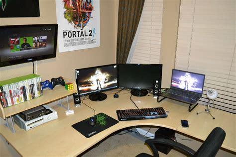 bureau gamer ikea ikea galant corner desk office workspace ideas