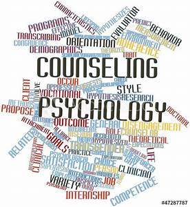 """""""Word cloud for Counseling psychology"""" Stock photo and ..."""