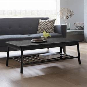 Wycombe, Rectangle, Coffee, Table, Black