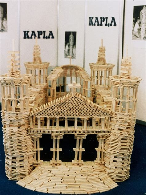 gallery  kapla building block set  big construction