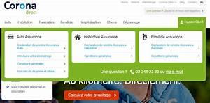 Declaration De Sinistre Auto : corona direct assurance au kilom tre mon compte ~ Gottalentnigeria.com Avis de Voitures