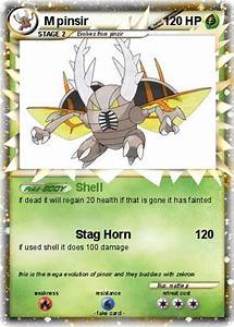 Pokémon M pinsir 7 7 - Shell - My Pokemon Card