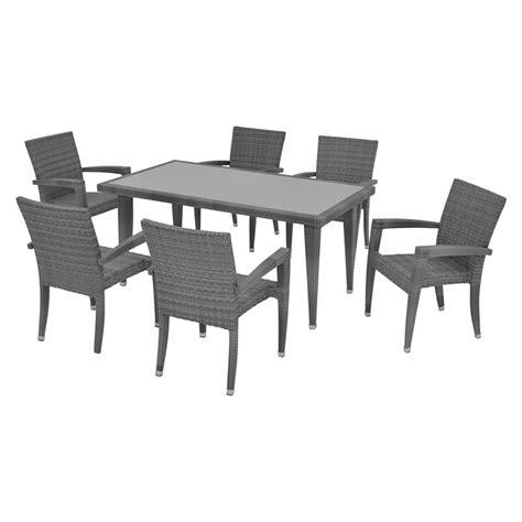 neilina gray 7 patio set el dorado furniture