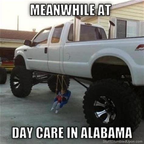 Funny Truck Memes - redneck meme redneck daycare monster truck diy child swing zen garden inspiration gallery