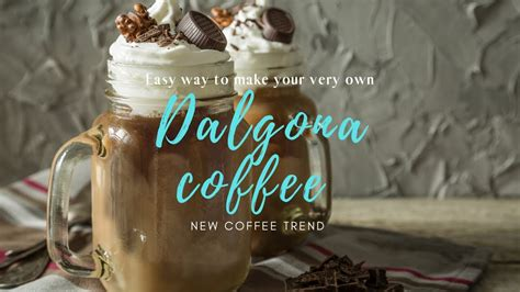 The instant coffee, sugar, and water are first whipped up to create an irresistible. How To Make Dalgona Coffee || Easy Ingredients For Dalgona Coffee || NO Mixer - YouTube
