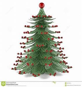 Decorative Christmas Tree Toy Stock Illustration - Image ...