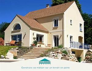 construire sa maison sur un terrain en pente groupe With construction maison terrain en pente