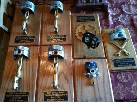 Homemade Car Show Trophy Ideas