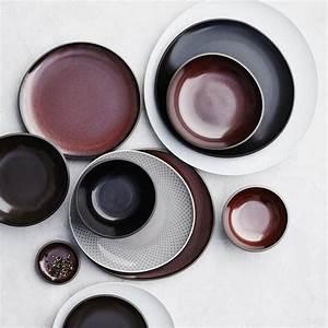 Vaisselle En Grès : service en gr s junto en gris ardoise de rosenthal ~ Dallasstarsshop.com Idées de Décoration