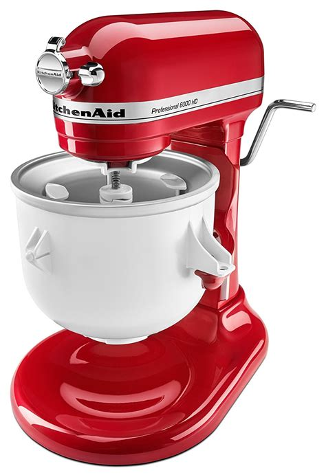 ice cream kitchenaid mixer maker attachment stand professional could mixers bar qt did know dining yogurt frozen asr
