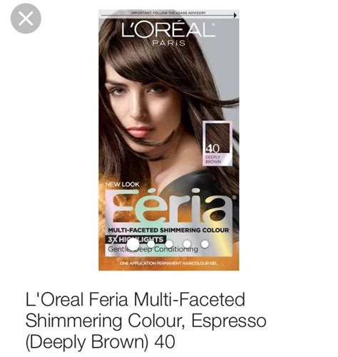 feria hair color reviews l oreal feria hair color in espresso deeply brown