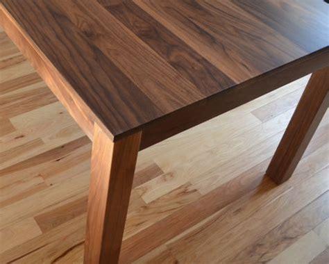 custom  solid walnut dining table  fabitecture