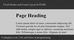 html header and footer template beautiful template With html header footer template