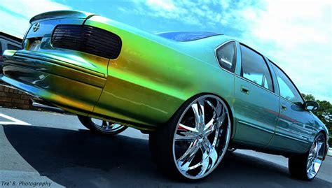 chevy impala   big rims custom wheels