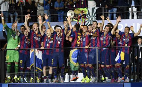Champions League: Barcelona win European trophy for fifth ...