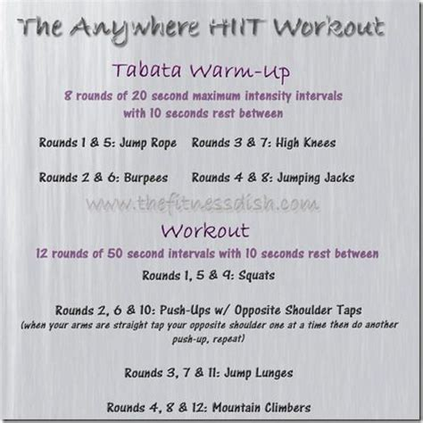 Images About Fabulous Hiit Workouts Pinterest