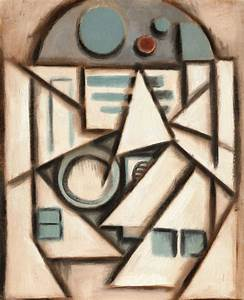 R2D2 abstract cubism painting by TOMMERVIK on DeviantArt