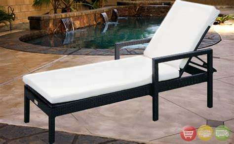 outdoor wicker patio furniture adjustable chaise lounge cw