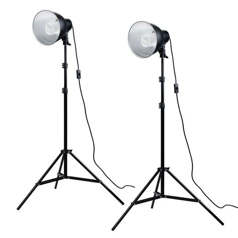 photo studio lighting kit photosel ls12e52 80 190cm studio lighting kit amazon co