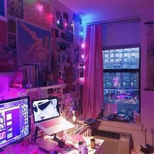 Neon Deco Chambre : exoticmamii neon x pink en 2018 pinterest maison appartement et d coration maison ~ Teatrodelosmanantiales.com Idées de Décoration