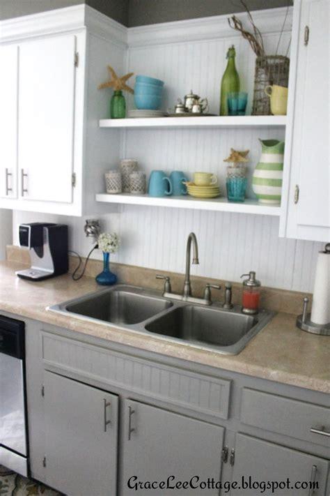 grace lee cottage updating  kitchen cabinets