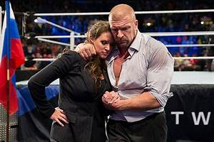 WWE Triple H And His Wife