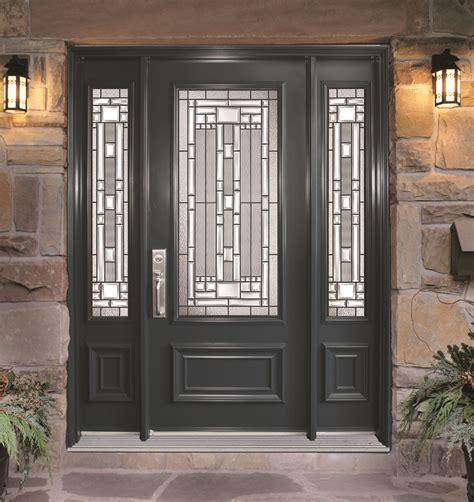 wood entry doors steel door with 2 sidelites naples glass models portatec