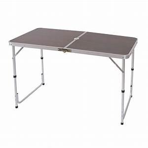 Table Pliante Avec Chaise : tables camping tableau table pliante de jardin table de valise 68x120x60cm avec trou parapluie ~ Teatrodelosmanantiales.com Idées de Décoration