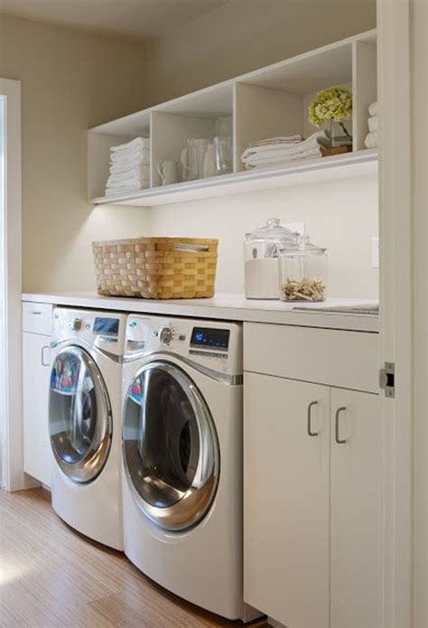 best laundry room designs white simple laundry room decor