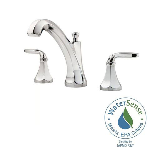pfister designer 8 in widespread 2 handle bathroom faucet