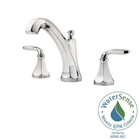 pfister designer 8 in widespread 2 handle bathroom faucet