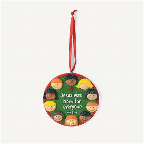christmas around the world christmas ornaments with card