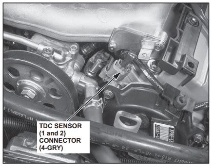 p1366 honda top dead center sensor 2 intermittent interruption