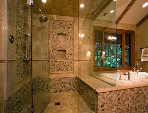 Photos Hgtv Contemporary Bathroom With Stone Tile Floors