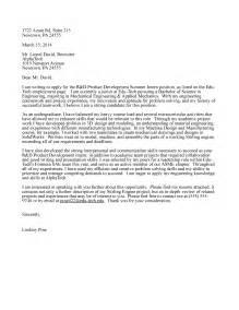 cover letter exle internship engineering application letter sle cover letter sle internship engineering