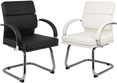 modern guest chair designer black or white office chairs