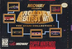 Midway Presents Arcade's Greatest Hits: The Atari ...