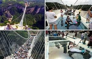 China opens longest glass bottom bridge in world - SUCH TV