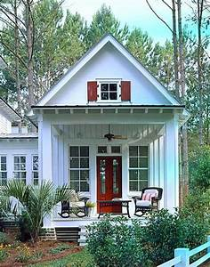 Tiny Romantic Cottage House Plan complete with comfortable ...
