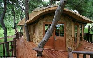 Now that39s a real millionaire play pad the luxury tree for Tree house plans uk