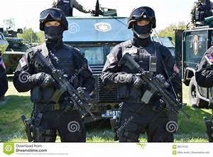 Serbian Police Special Forces Operators Editorial Stock ...