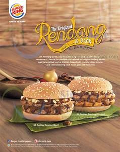 Burger King Original Rendang Beef & Chicken Burgers Are ...