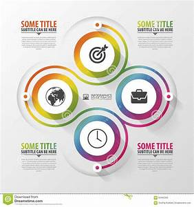Spiral With Diagram Infographics Element  Modern Design