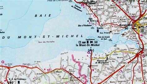 mont st michel carte infos sur 187 carte mont michel et ses environs 187 vacances arts guides voyages