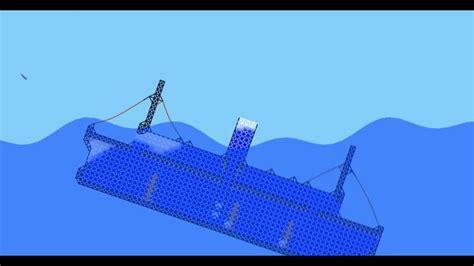 astro plays sinking simulator ship sinking sandbox