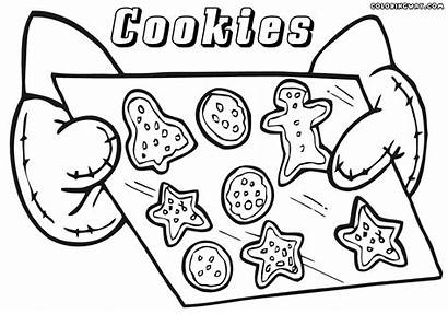 Cookies Coloring Pages Colorings